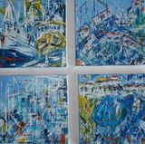 Four small studies. Harbour and Marina