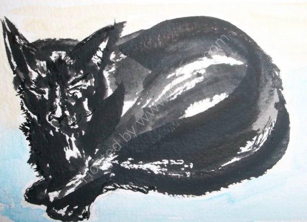 Malagan cat 1
