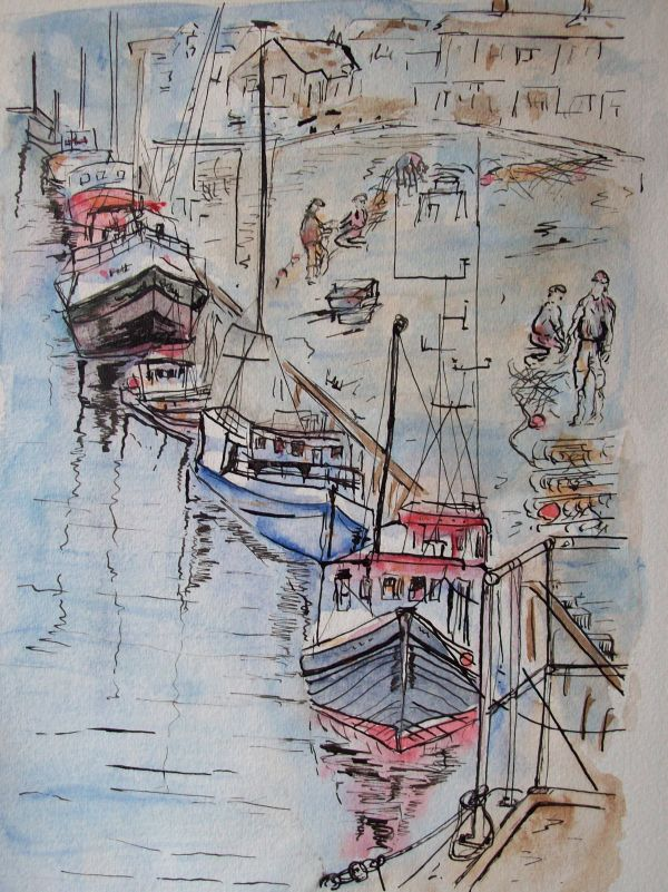 Harbour Morning  SOLD