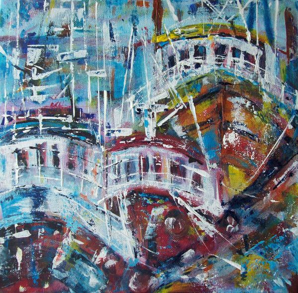 Busy Harbour 3  SOLD