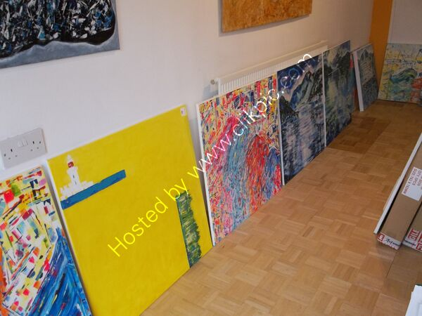 Selecting pieces for exhibition