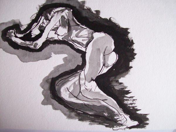 Prone woman (2)