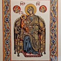 OUR LADY ENTHRONED