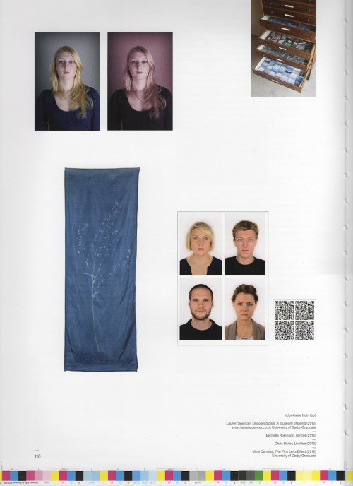 "Page from Format Festival 2013 catalogue featuring ""Uncollectables"""