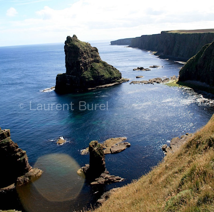 Duncansby Stacks Colour