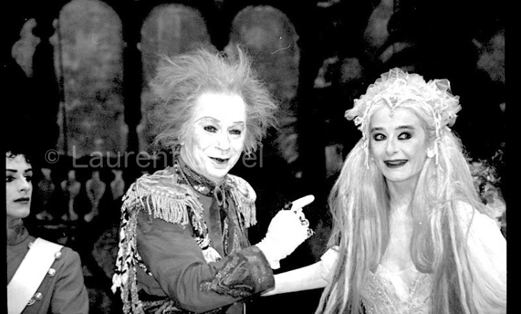 """Lindsay Kemp & Nuria Moreno In """"Cinderella"""" (2)"""