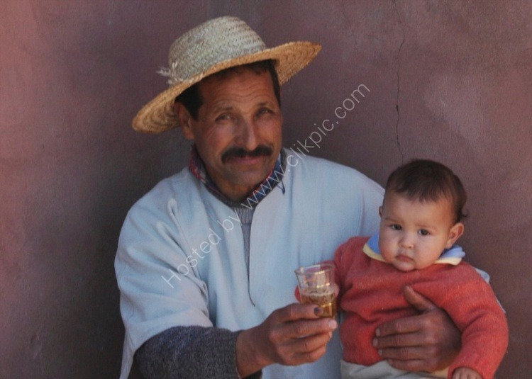 Berber Father & Young Child