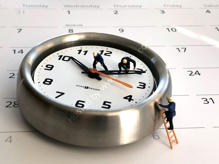 TIME MANAGEMENT:  Time flies.The good news is, you're the pilot.
