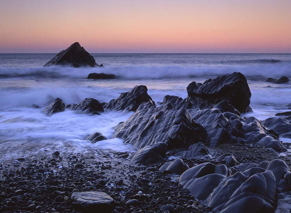 Sandymouth dawn