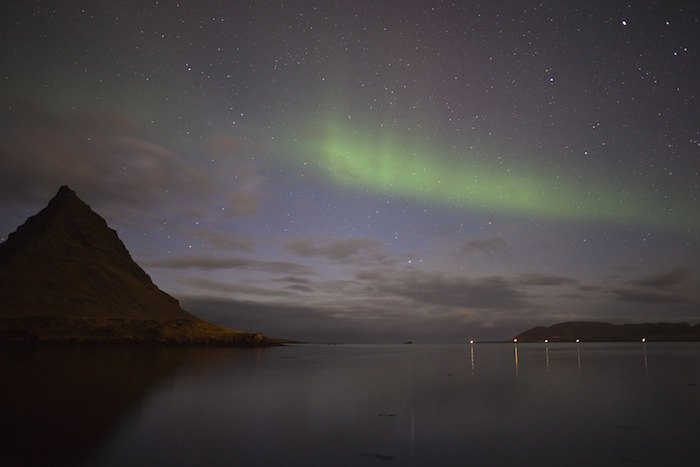 Kirkjufell Aurora