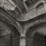 Medieval staircase