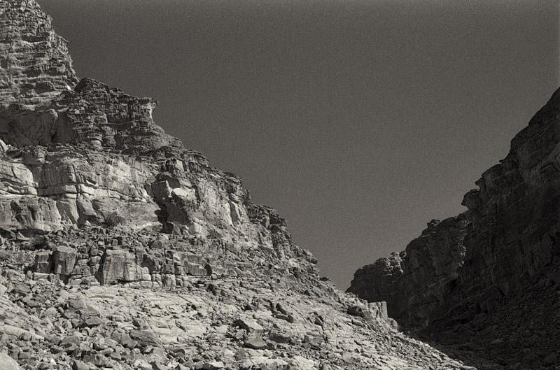Wadi Rum cliffs