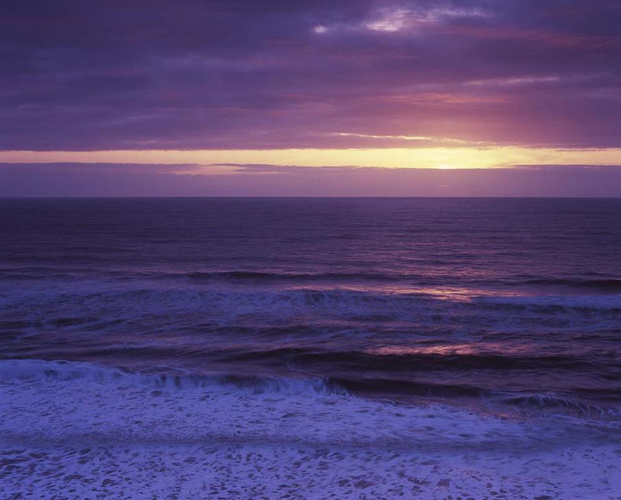 San Gregorio dusk