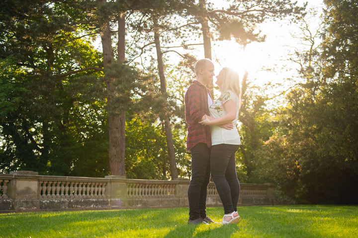 Wood Norton Hotel wedding photography. Here's another amazing engagement photo from the photoshoot I did at the Wood Norton Hotel last month