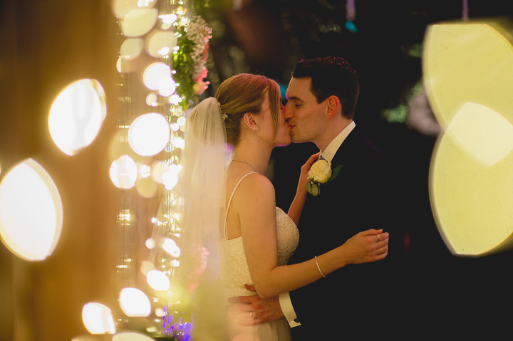 Worcestershire wedding photography. wedding photo with fairy lights