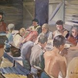 'Grape pickers lunch'