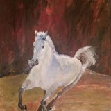 """""""White Horse""""- Not for sale"""