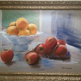 'Apples and oranges' 70cm x 50cm €500