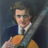 'The musician'  61cm x 46cm