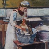 'Scullery Maid' 51cm x 40.5cm