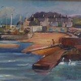 'Bray Harbour Ireland' 50cm x 40cm SOLD
