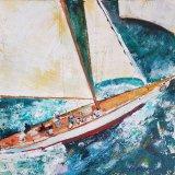 'Stormy seas' 40cm x 39.5cm