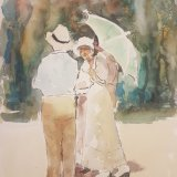 Bloomsday Group Watercolour
