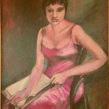 'The Actress' (76cm x 101.5cm) €1000