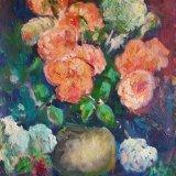 'Flower Arrangement' 45.5cm x 35.5cm