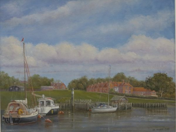 "The Master Builder's – Bucklers Hard, Beaulieu River 16"" x 20"""
