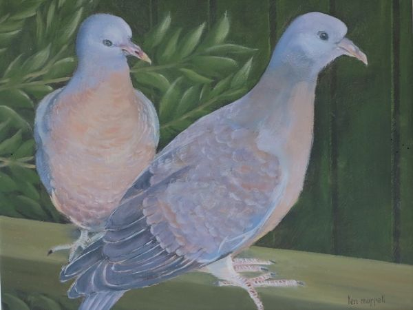 """Birds of a Feather 10"""" x 12"""""""