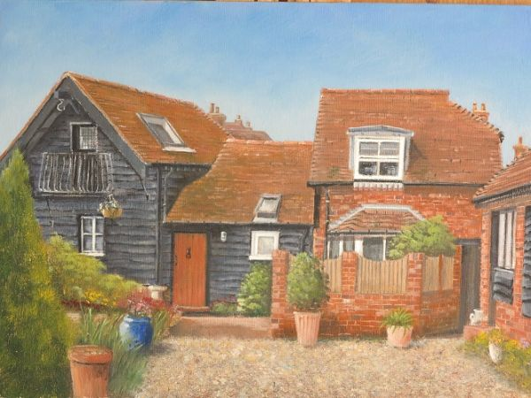 "The Granary – Monk's Yard 10"" x 14"""