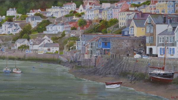 """Bayard's Cove - Dartmouth: 10"""" x 20"""""""