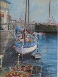 """Brixham Harbour - Devon: 12"""" x 16"""""""