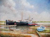 "River Orwell - Pin Mill Mooring: 15"" x 19"""