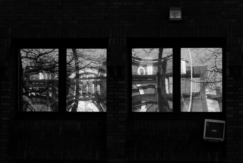 Window Reflections, Wolverhampton.