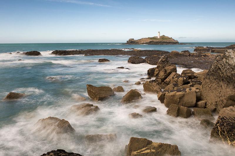 Godrevy Lighthouse, Cornwall.