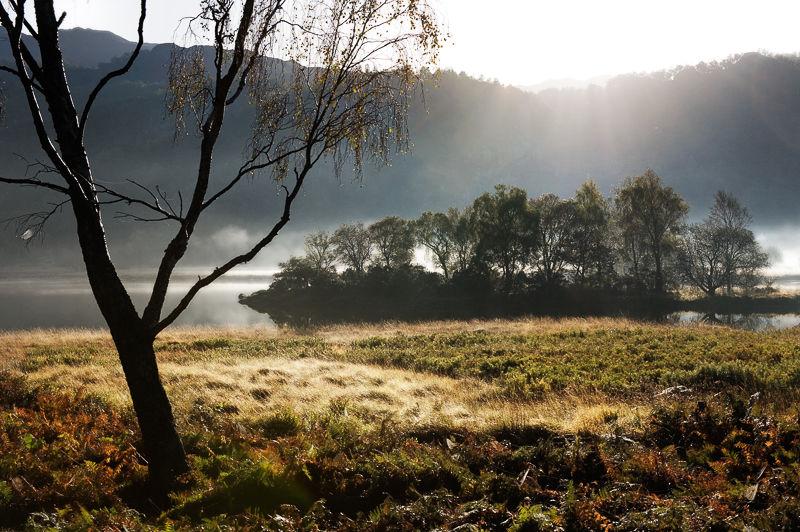 Autumn Mist, Derwentwater
