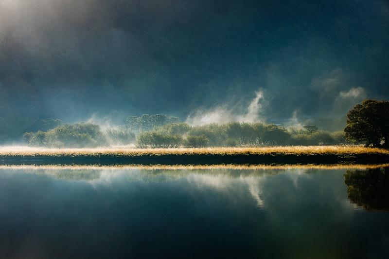 Mist Rising, Derwentwater.
