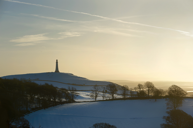 Sunrise by the Hoad, Ulverston.