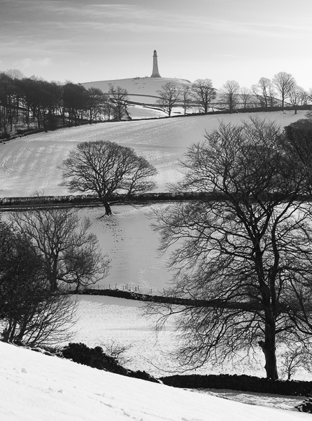 The Hoad in Winter, Ulverston.