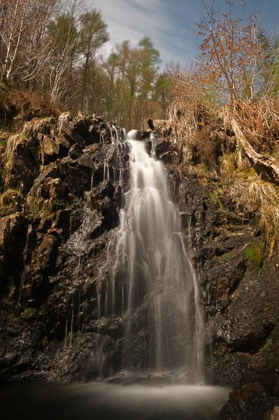 Waterfall, Dudden Valley.