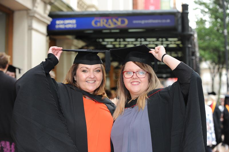 Graduations at Wolverhampton University