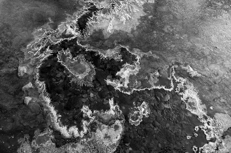 Patterns in the Ice, Derwentwater.
