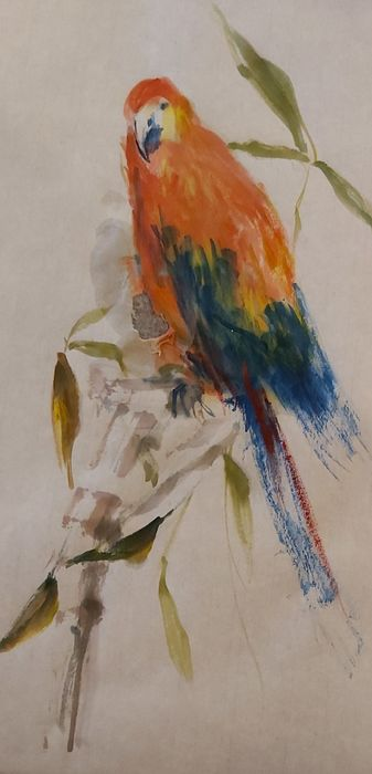 Parrot by Elaine Smith.