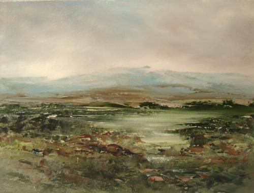 Highland, spring rain