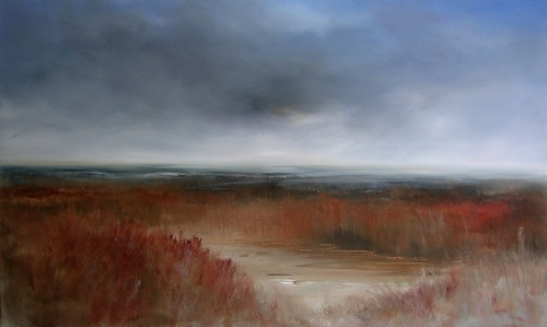Marshland, warm reds
