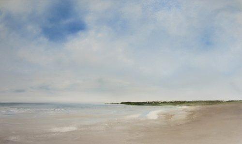 Coastline, calm weather