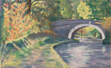 Leeds-Liverpool Canal - coloured pencil