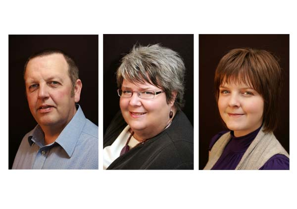 Attractive business portraits of the family management team at BDI Consultants.